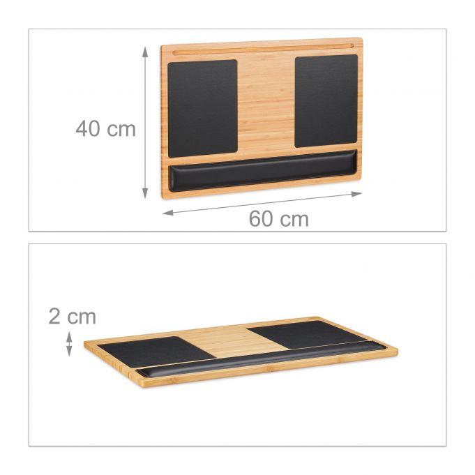 Supporto in bambù per laptop4