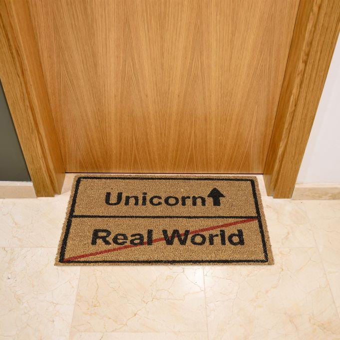 Zerbino in cocco Unicorn Real World2