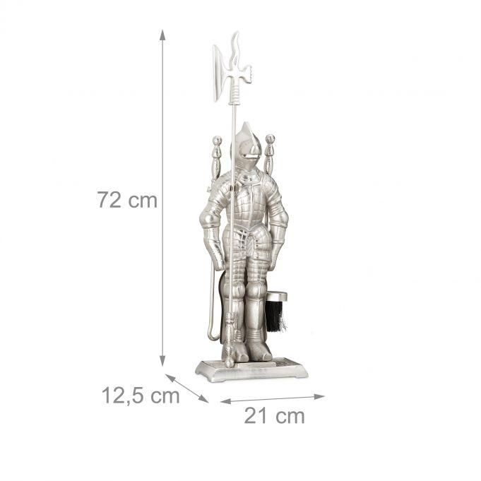 4-Piece Fireplace Companion Knight4