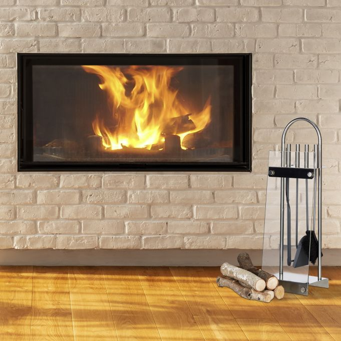 Modern 5-Piece Fireplace Companion Set2