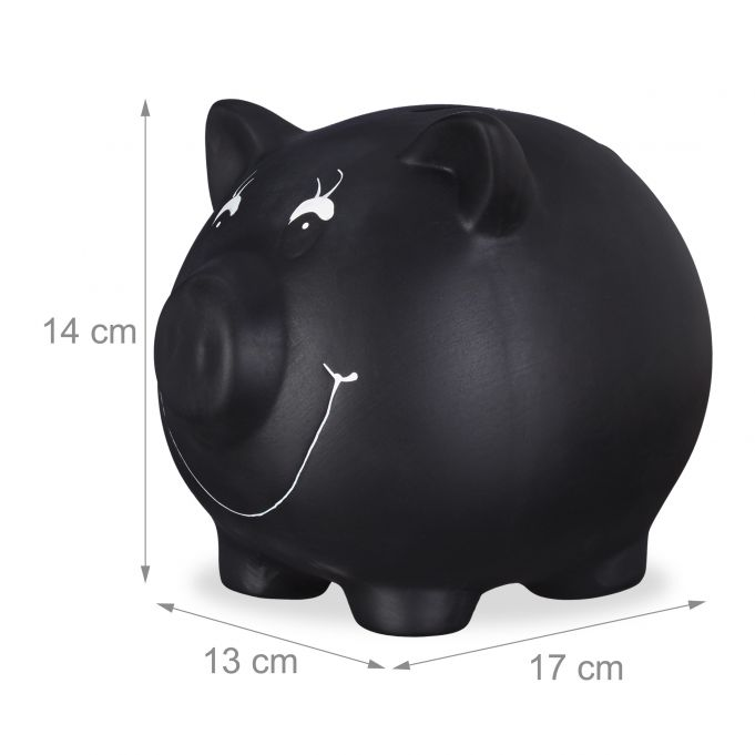 Chalkboard Piggy Bank2