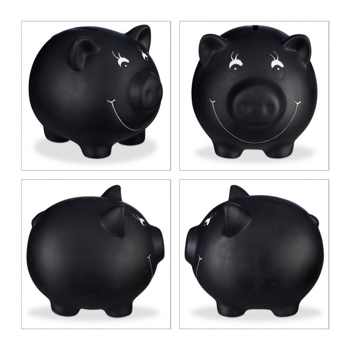 Chalkboard Piggy Bank4