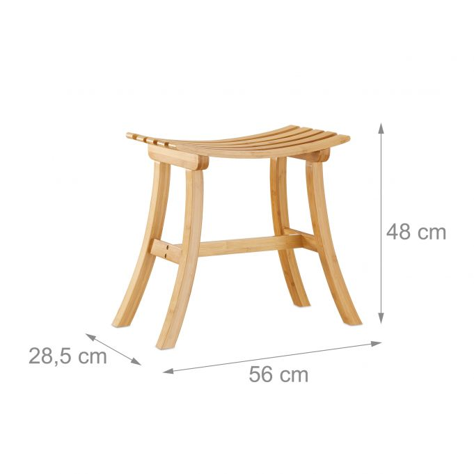 Curved Bamboo Footstool4