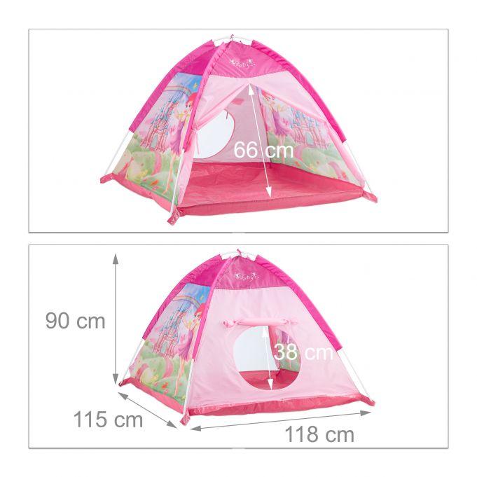 tenda gioco per bambini rosa con fata2