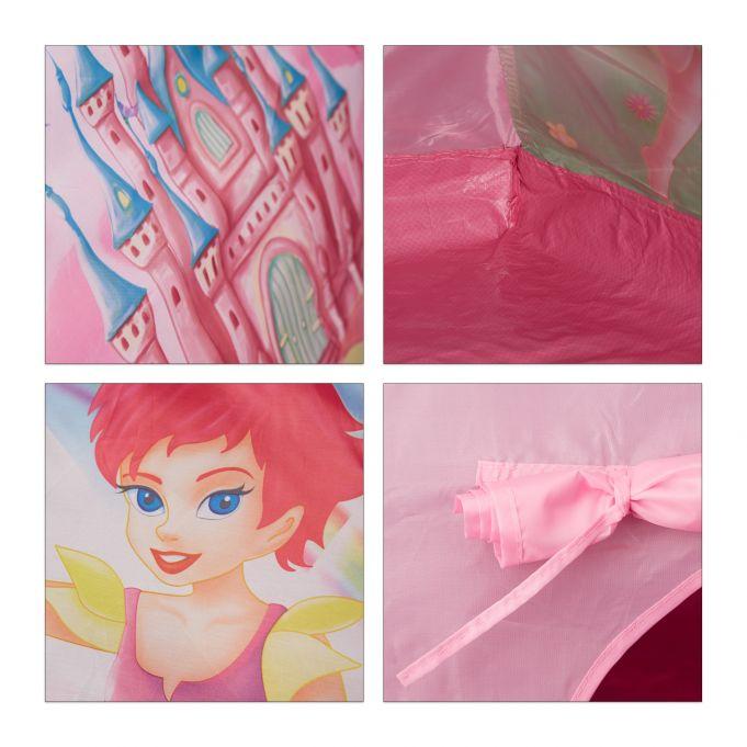 tenda gioco per bambini rosa con fata4