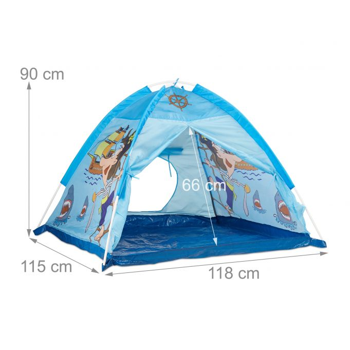 Pirate Play Tent, Blue4
