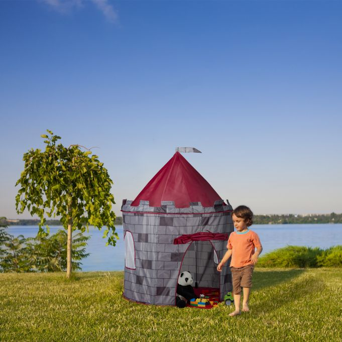 Knight's Castle Play Tent for Boys2
