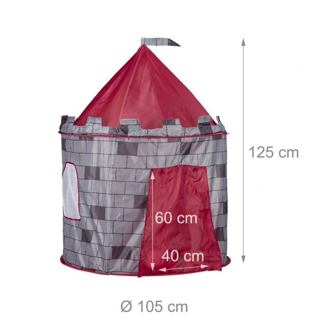 Knight's Castle Play Tent for Boys3