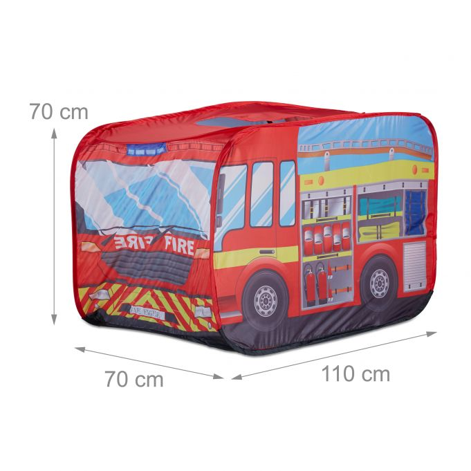 Fire Brigade Play Tent for Kids2