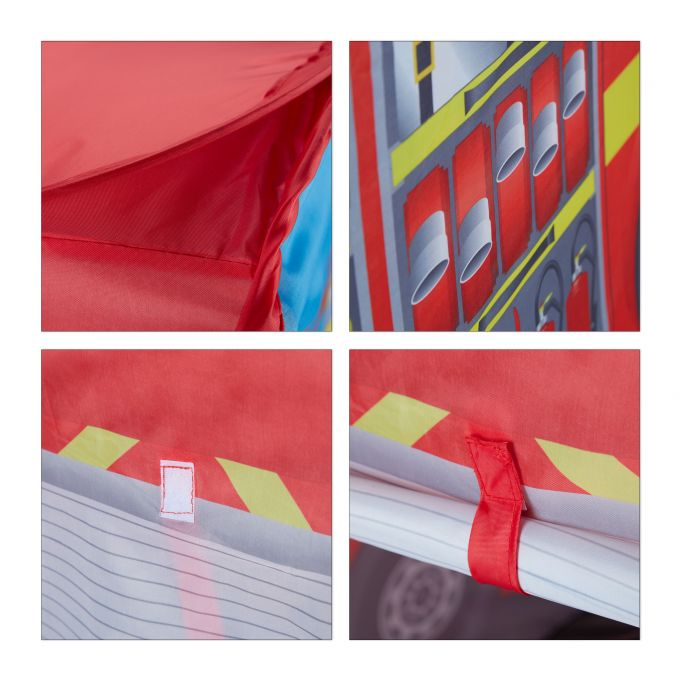 Fire Brigade Play Tent for Kids4
