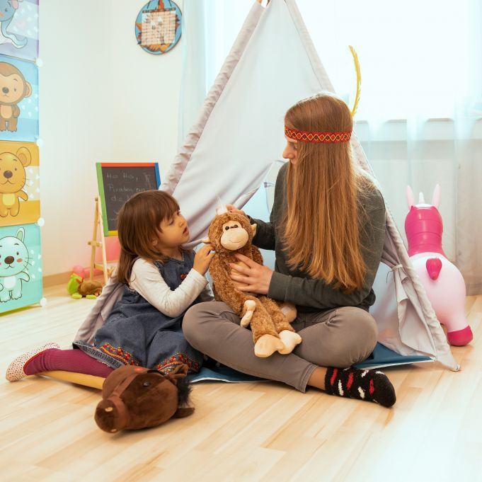 Teepee Play Tent for Kids3