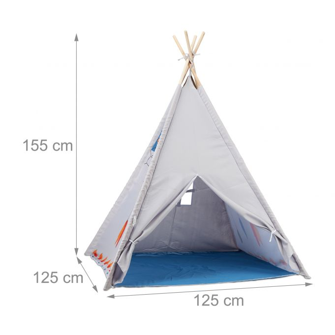 Teepee Play Tent for Kids4