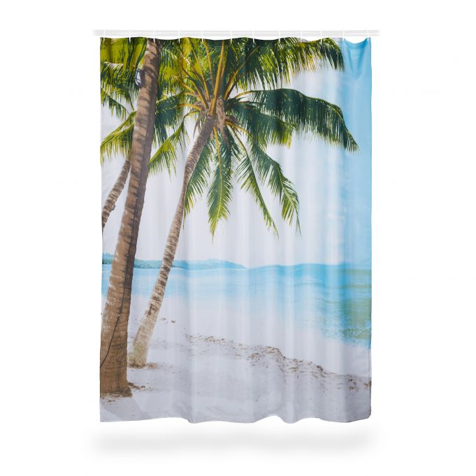 Beach Shower Curtain 180 x 180 cm3
