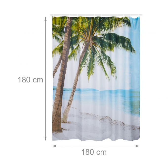 Beach Shower Curtain 180 x 180 cm4