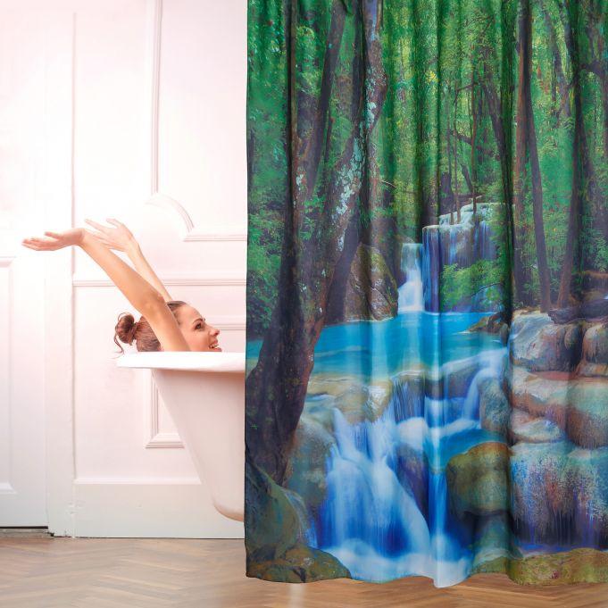 Tenda da doccia cascata 200x180 cm2