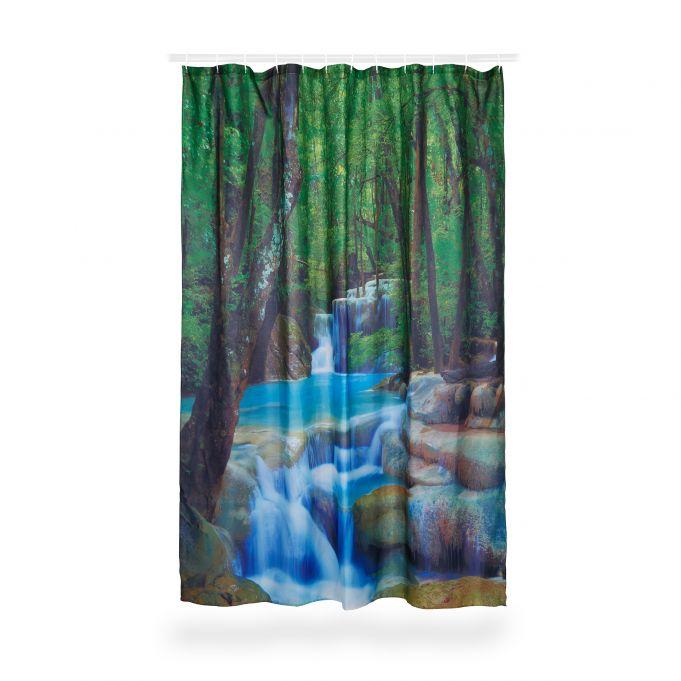Tenda da doccia cascata 200x180 cm3