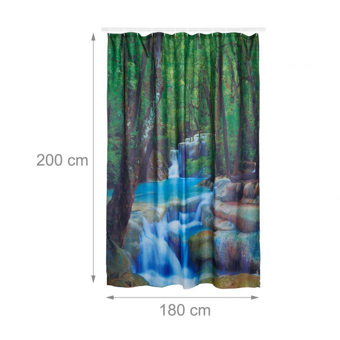 Tenda da doccia cascata 200x180 cm4