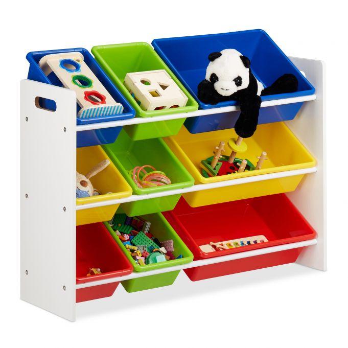 Kinderregal mit Regalboxen 2