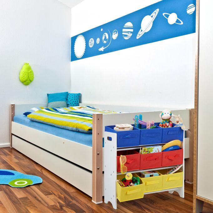 Children's Storage Shelf with Boxes2
