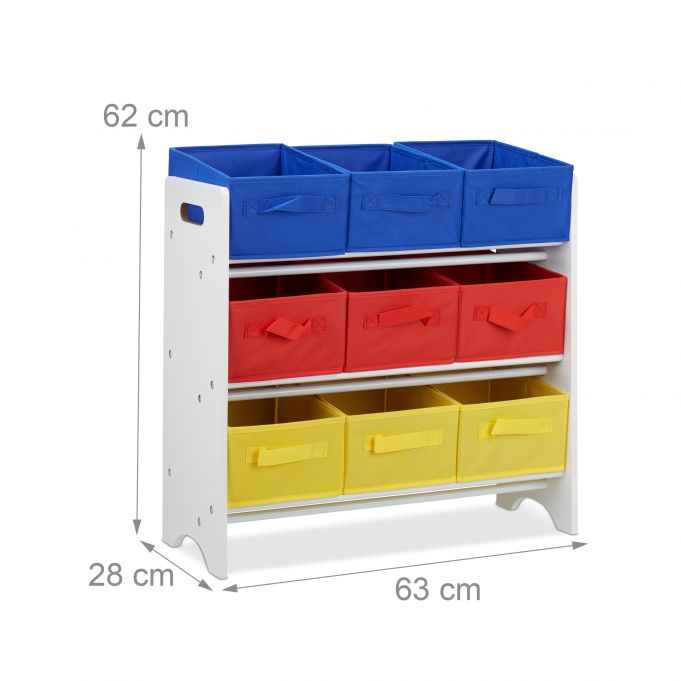 Children's Storage Shelf with Boxes4