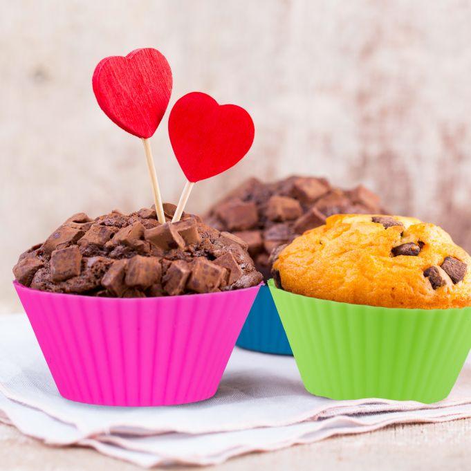 24 pirottini per muffin in silicone2