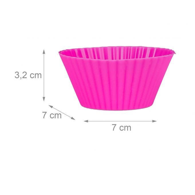24 Silicone Cupcake Baking Cups4
