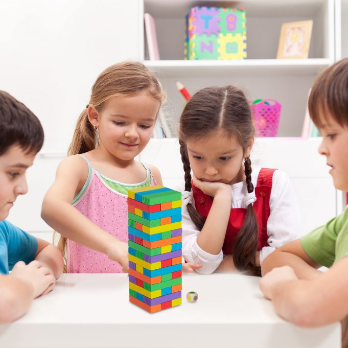 Wooden Stacking Tower3