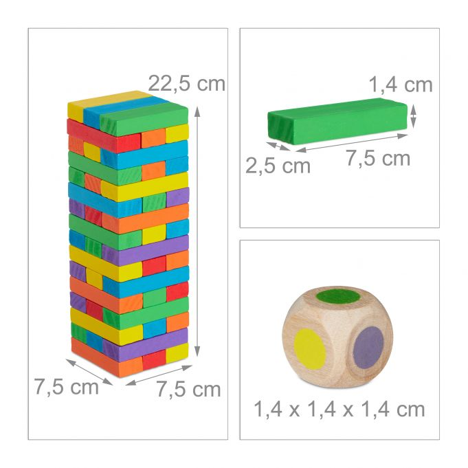 Wooden Stacking Tower4