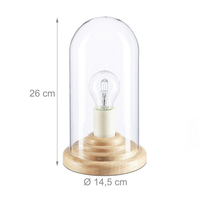 Glass Dome Table Lamp3