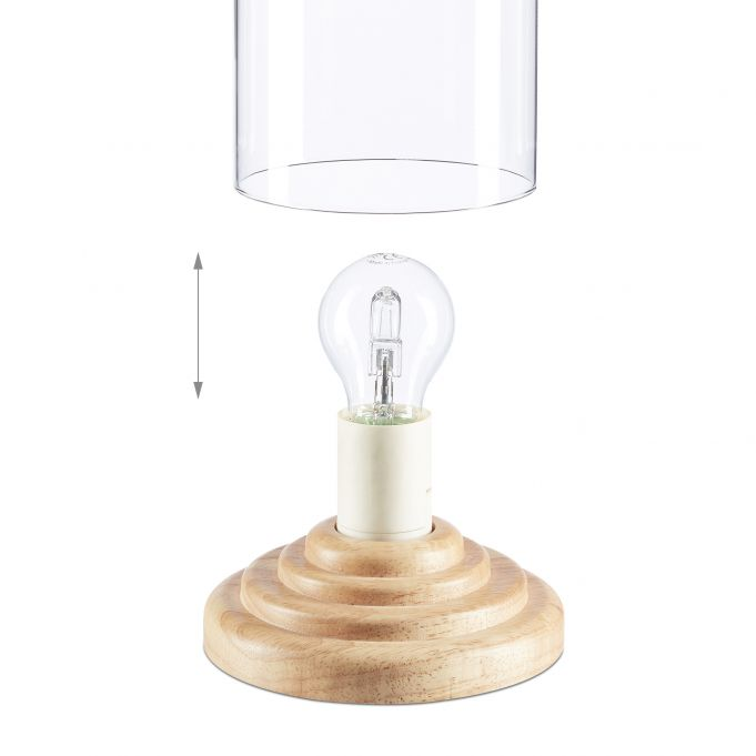 Glass Dome Table Lamp4
