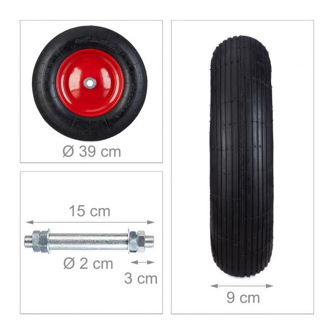Pneumatic Wheelbarrow Tyre4