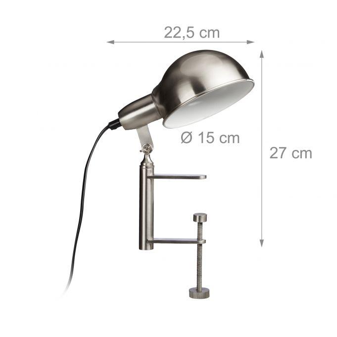 Lampada con morsetto design industrial4