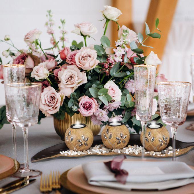 Porte-bougies décoration de de table3