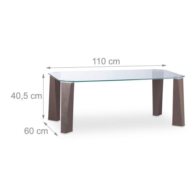 Table Basse Verre Trempé Pieds en MDF4
