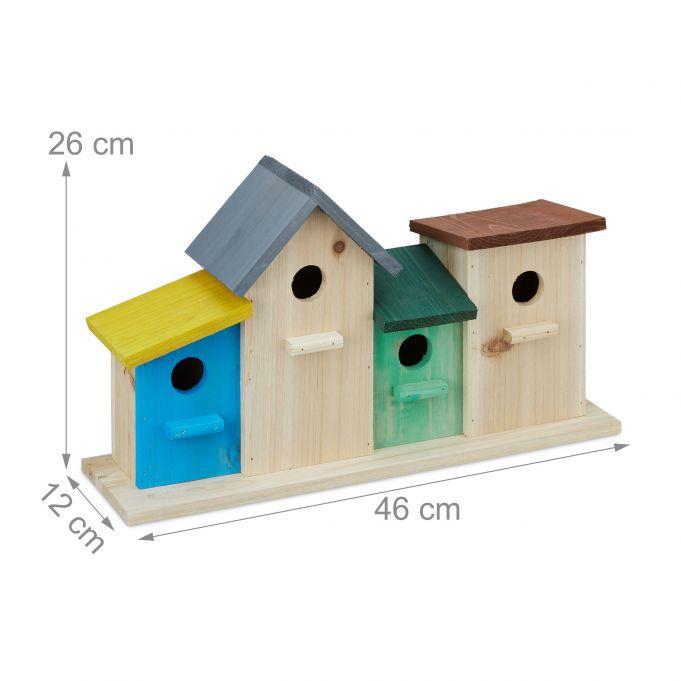 Colourful Birdhouses3