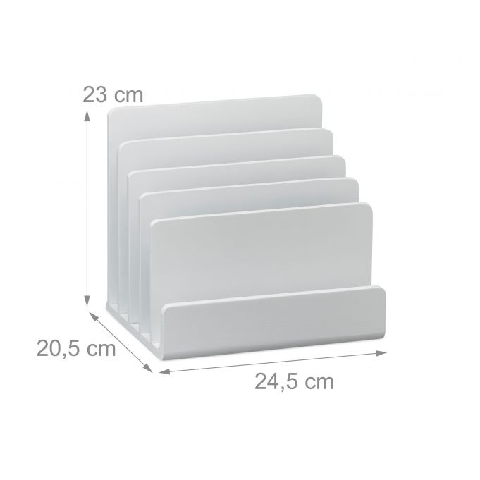 Trieur de Documents en Bambou Blanc4