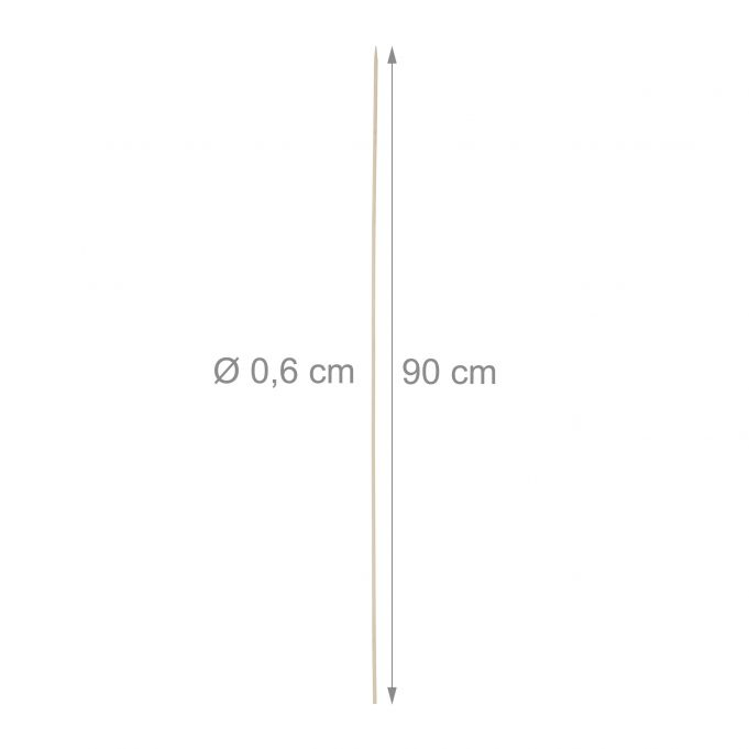 Extra-Long Bamboo Barbecue Skewers4