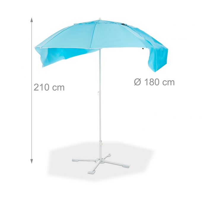 2in1 Parasol and Sun Shelter4