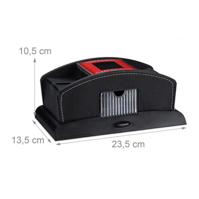 Electric 2-Deck Leather Card Shuffler4