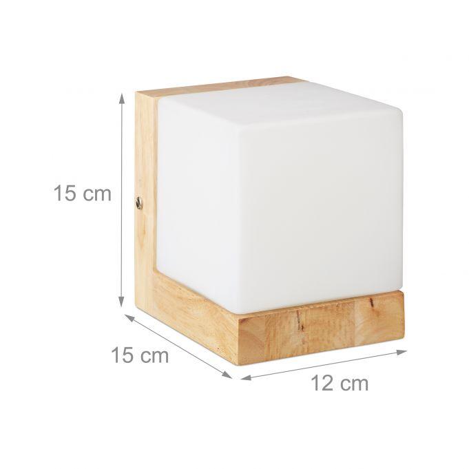 Lampe murale en cube4