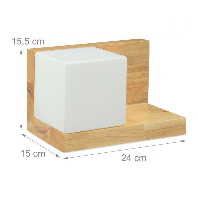 Lampe en forme de cube + étagère3