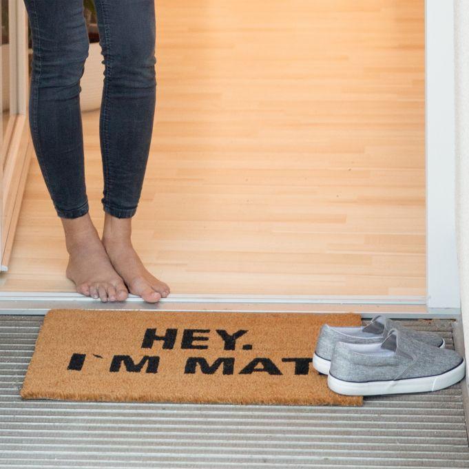 Coir Doormat I'M MAT3