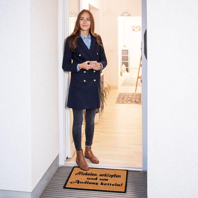 Coir Doormat AUDIENCE2