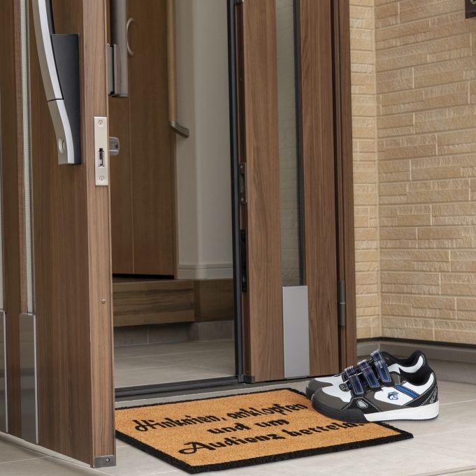 Coir Doormat AUDIENCE3