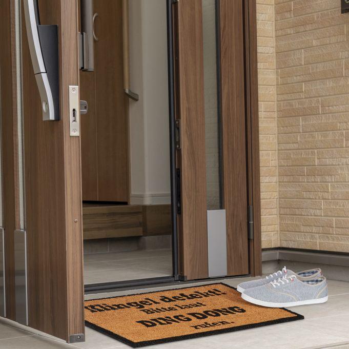 Coir Doormat DING DONG3