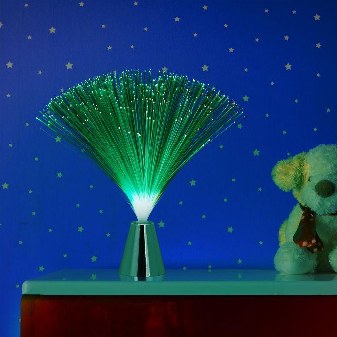 Fibreglass Lamp with Colour Change2