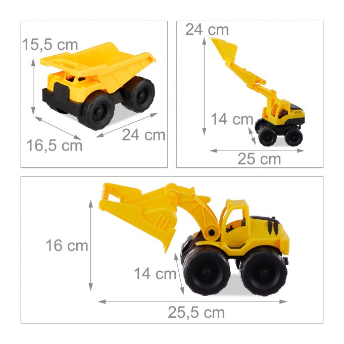 Set of 3 Construction Vehicle Toys4