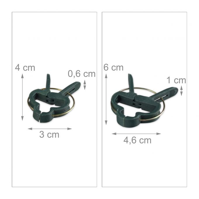 Set of 110 Plant Supports4