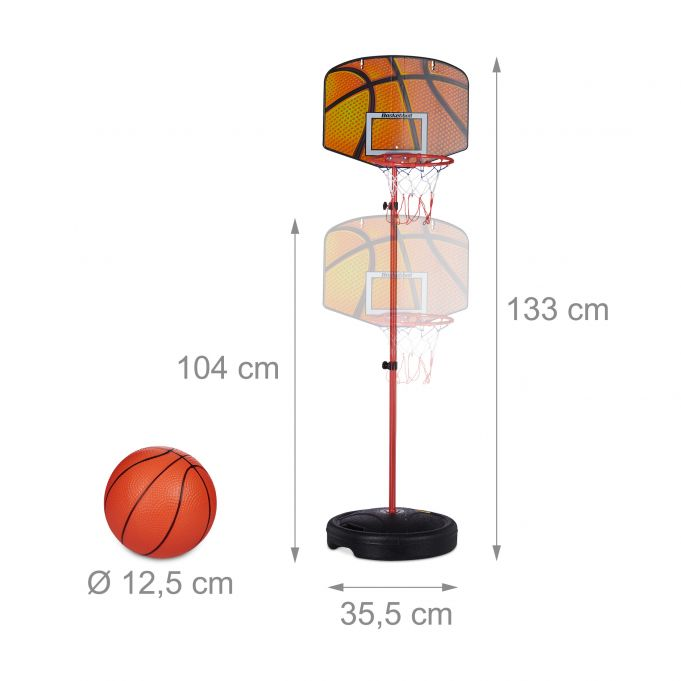 Basketballkorb Kinder 133 cm4
