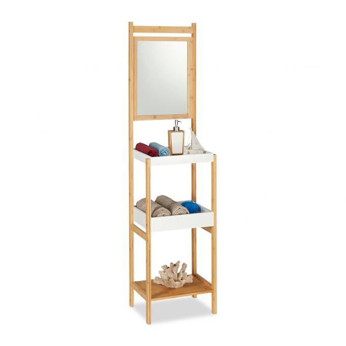 Badregal Bambus Mit Spiegel Hier Kaufen